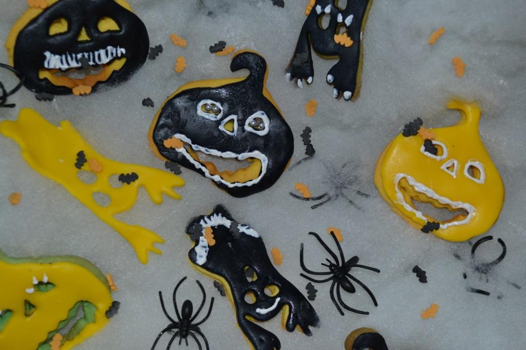 Petits sablés d'halloween